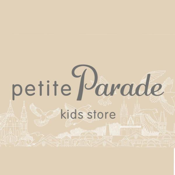 Логотип компании petiteParade kids store