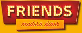 Логотип компании Friends modern diner