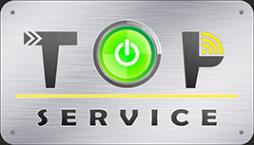 Логотип компании TopService66