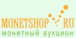 Логотип компании MONETSHOP.RU