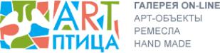 Логотип компании АРТ-птица