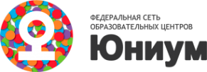 Логотип компании Юниум