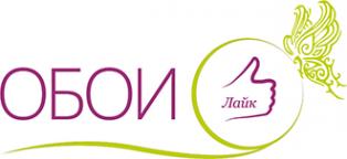 Логотип компании Обои-Лайк