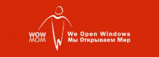 Логотип компании WOW-MOM