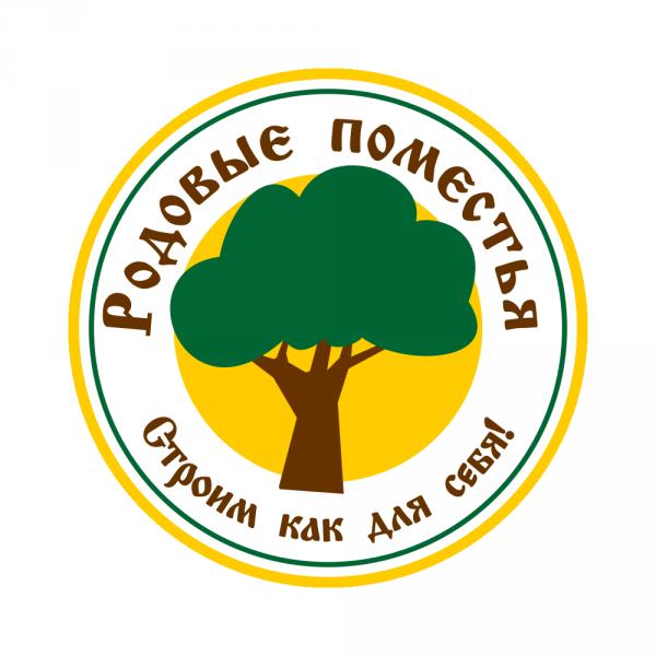 Логотип компании Родовые Поместья